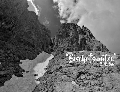 Die Bischofsmütze (2.458m), die vom Kopf fiel
