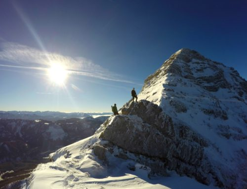 Kamm aus Eis: Ötscher-Ostgrat im Winter
