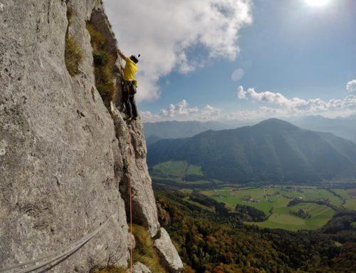 Kleine Berge, große Wände: Durch die Schieferstein-Südwand